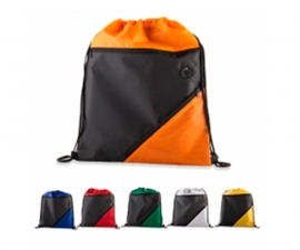 Bolso Deportivo con dos cremalleras y bolsillos superior y lateral