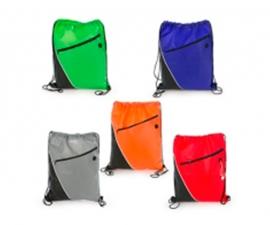 Bolso Deportivo combinado con cremallera y bolsillo a un costado (2)
